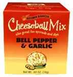 Kitchen Dancer Bell Pepper & Garlic Cheeseball & Dip Mix