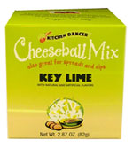 Kitchen Dancer Key Lime Cheeseball & Dip Mix