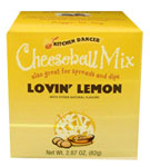 Kitchen Dancer Lovin' Lemon Cheeseball & Dip Mix