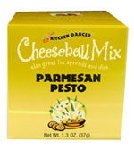 Kitchen Dancer Parmesan Pesto Cheeseball & Dip Mix