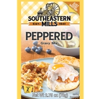 Southeastern Mills Old Fashioned Peppered Gravy Mix 2 Cups