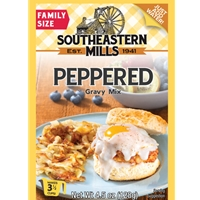 Southeastern Mills Old Fashioned Peppered Gravy Mix 3 1/2 Cups