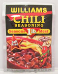 Williams Country Store Original Chili Seasoning For 1 lb. Meat