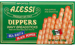 Alessi Sea Salt and Black Pepper Dippers Breadsticks