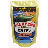 Deano's Sea Salt Jalapeno Chips