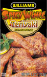 Williams Country Store Spicy Wings Teriyaki Seasoning