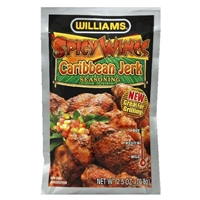 Williams Country Store Spicy Wings Caribbean Jerk Seasoning