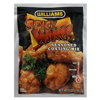 Williams Country Store Spicy Wings Seasoned Coating Mix