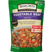 Bear Creek Vegetable Beef Soup Mix