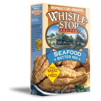 Whistle Stop Recipes Seafood Batter