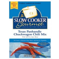 Slow Cooker Gourmet Texas Panhandle Chuckwagon Chili
