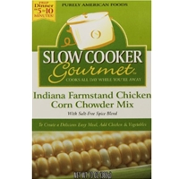 Slow Cooker Gourmet Indiana Farmstand Chicken Corn Chowder
