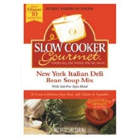 Slow Cooker Gourmet NY Italian Deli Bean Soup Mix