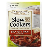 Orrington Farms Slow Cookers BBQ Pork Roast Seasoning