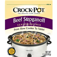 Crock-Pot Beef Stroganoff Seasoning Mix