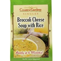 Country Gardens Broccoli Cheese Soup Single Mix