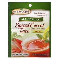 Mrs. Wages Spiced Carrot Juice Seasoning Mix