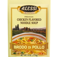 Alessi Brodo di Pollo Chicken Flavored Noodle Soup