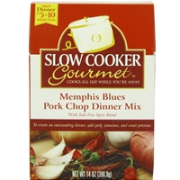 Slow Cooker Gourmet Memphis Blues Pork Chop Dinner