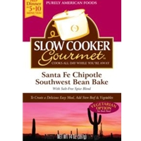 Slow Cooker Gourmet Santa Fe Chipotle Southwest Bean Bake