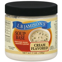 L.B. Jamison's Cream Flavored Soup Base 7oz.