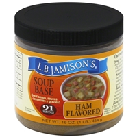 L.B. Jamison's Ham Flavored Soup Base 16oz.