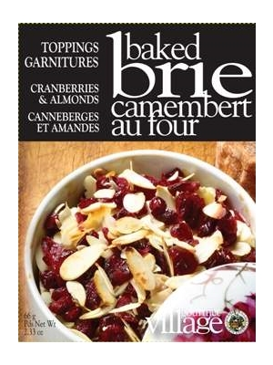 Gourmet Du Village Cranberries Amp Almonds Baked Brie Topping