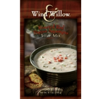 Wind & Willow Roasted Red Pepper Asparagus Soup