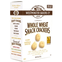 Westminster Bakers Co Whole Wheat Snack Crackers