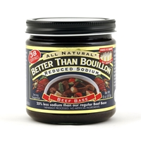 Better Than Bouillon Reduced Sodium Beef Base