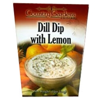 Country Gardens Dill Dip With Lemon Dip Mix