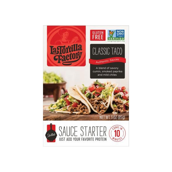 La Tortilla Factory Cocina Fresca Classic Taco Skillet Sauce Starter