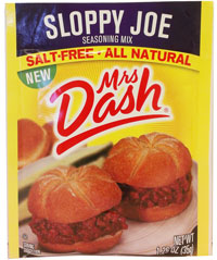 Mrs. Dash Sloppy Joe Seasoning Mix