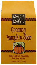 Maggie and Mary's Creamy Pumpkin Soup