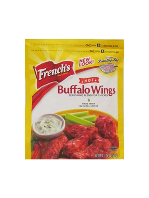 French's Buffalo Wings Seasoning Blend Hot