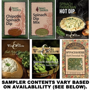 Spinach Dip Mix Sampler
