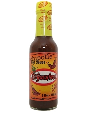 El Yucateco Chipotle Chile Hot Sauce