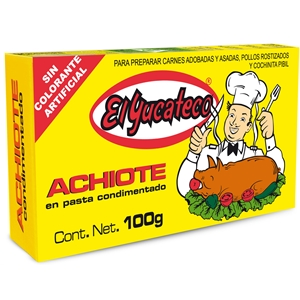 El Yucateco Annatto Paste