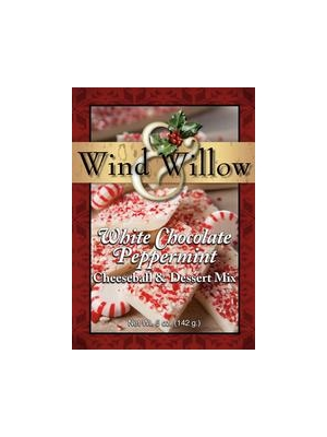 Wind & Willow White Chocolate Peppermint Cheeseball and Dessert Mix