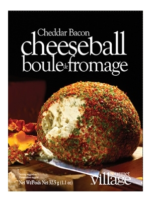 Gourmet du Village Cheddar Bacon Cheeseball Mix