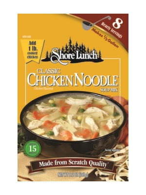 Shore Lunch Classic Chicken Noodle Soup Mix