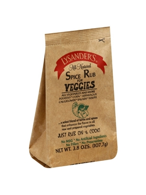 Lysander's Spice Rub for Veggies