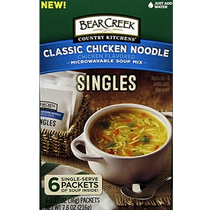 Bear Creek Chicken Noodle Soup Mix -  Singles