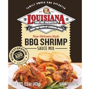 Louisiana Fish Fry BBQ Shrimp Sauce Mix