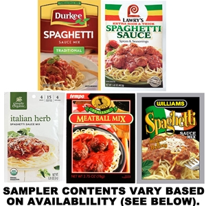 Spaghetti Seasoning Sampler