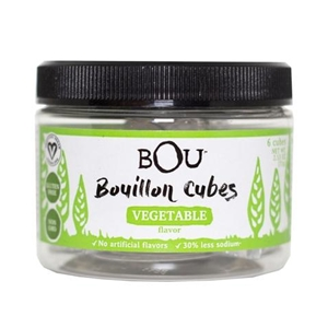 Bou Brands Vegetable Flavored Bouillon Cubes