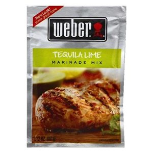Weber Tequila Lime Marinade Mix