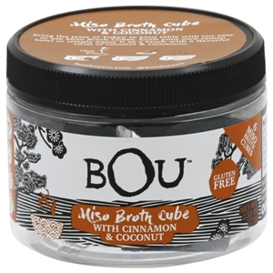 Bou Miso Broth Cube with Cinnamon and Coconut