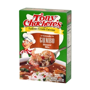 Tony Chachere's Famous Creole Cuisine Creole Gumbo Dinner Mix