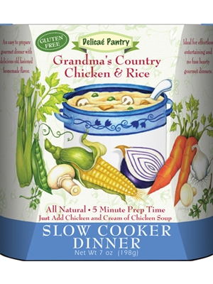 Delicae Gourmet Grandma's Country Chicken & Rice